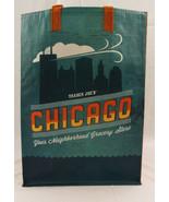 Trader Joes Reusable Market Shopping Bag Chicago 6 Gallon 12x16x7 Inches - $11.16