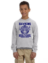 Kids Youth Sweatshirt Hawkins Middle School 1983 Trendy Top Gift - $26.94