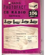 Sams Photofact CB Radio CB-106  January 1977 - $6.00