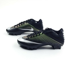 Nike Vapor Speed 2 TD Football Game Cleats Men's US 9 Black Green 833380... - $59.39