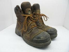 "TIMBERLAND PRO Men's 8"" Endurance HD CTCP Work Boots A1Q5U Brown Size 10W - $56.99"