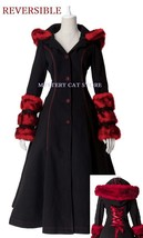 New Pyon Pyon Reversible Gothic Jacket Coat Bl&Red LY036 Fast Postage - $114.94