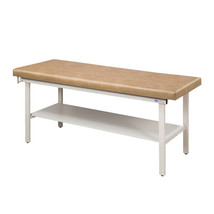 Clinton Treatment Table w/Full Shelf 27in-Gunmetal - $936.93