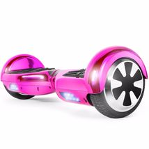 Chrome Hot Pink Extreme Bluetooth 6.5 Hoverboard Two Wheel Balance Scoot... - $249.00