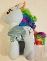"My Little Pony Rainbow Dash Build A Bear 2013 16"" Blue Plush Toy Stuffed... - $22.53"