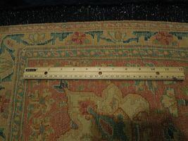 11x17 Navy Blue Handmade Open Field Durable Fine Original Persian Rug image 8