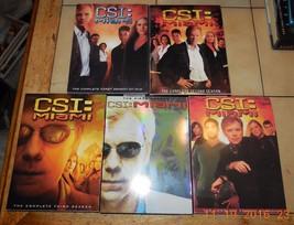 CSI MIAMI DVD SEASONs 1-5 Lot CBS - $93.50