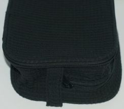 Terry Town CBW001 Waffle Weave Cosmetic Bag Color Black image 4