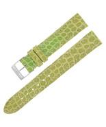Breitling 15-14mm Piel de Cocodrilo Verde Mujer Banda Reloj W.Hebilla - $294.70