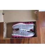 "BNIB Skechers® Women's ""Skech-Air 2.0"" Aim High Training Shoes, grey/pin... - $65.00"