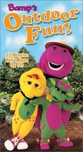 Barney's Outdoor Fun [VHS] [VHS Tape] - $18.56
