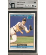 1992 Donruss #406 Jim Thome RR GAI 9.5 GEM MINT - $102.82
