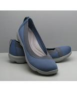 Crocs SHOES Woman's Flats 7 W Blue - $14.84