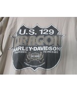2010 Harley Davidson Tallassee TN US 129 Dragon Shirt Used Men's XL - $9.00