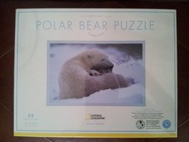 National Geographic Polar Bear Puzzle By Pottery Barn Kids - $24.74