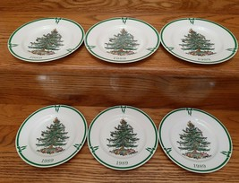 Spode Limited Edition Collectors Plates 1989 Christmas Tree  50th Annive... - $89.95