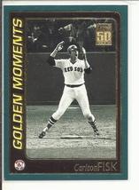 (SC-8) 2001 Topps Baseball Card #791: Carlton Fisk - Golden Moments - $1.00