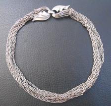 Vintage silvertone necklace choker Lisner brand - $28.71