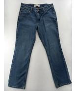 Women's Levi Straus Denim Jeans Signature Mid Rise Boot cut size 12 w/ t... - $14.20