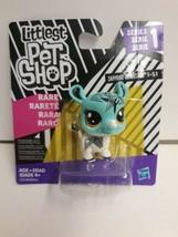 Rare NEW Littlest Pet Shop SAPPHIRE RHINOSTAR Rhinoceros RHINO #1-51 LPS... - $9.89