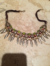 dramatic beaded necklace - $24.99