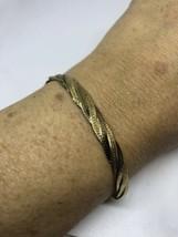 Vintage Filigree Golden 925 Sterling Silver 7.5 Inch Flat Chain Bracelet - $43.72