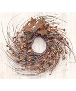 "Fall Primitive Mix Pip & Star Twig Wreath, 10""  - $24.99"