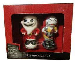 Disney Nightmare Before Christmas Salt and Pepper Shaker Set Christmas Set - $14.99