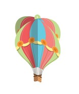 Up, Up & Away Hot Air Balloon Baby Shower Birthday Party Hanging Decoration - $13.66