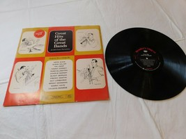 Great Hits fo the Great Bands 12 All-Time Favorites Various Art Record L... - $16.33