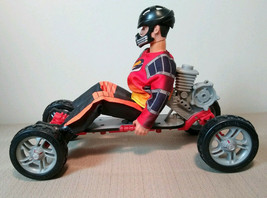Hasbro 1993 Actin Man Skate Boarder #4632 Push button Engine Spring Rock... - $16.99