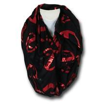 Deadpool Foil Women's Infinity Scarf Black - $15.98