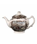 Johnson Brothers Friendly Village Teapot  Tea Pot COVERED SUGAR AND CREA... - $98.99