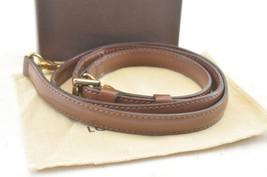 LOUIS VUITTON Epi Shoulder Strap Brown 102-120cm LV Auth 2852 - $230.00