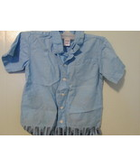 Homemade Clothes Pin Bag made from Size 5T Old Navy Bermuda Shirt MCHE167 - $7.74