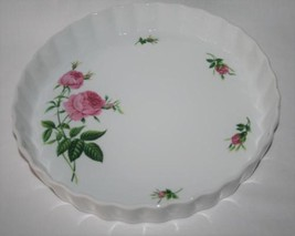 Oneida Pink -Rose- Quiche Dish   #2122 - €16,95 EUR