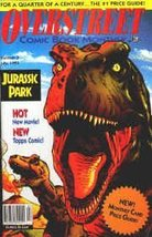 "OVERSTREET COMIC BOOK MONTHLY (PRICE GUIDE) (""JURASSIC PARK"", HOT NEW MO... - $9.79"