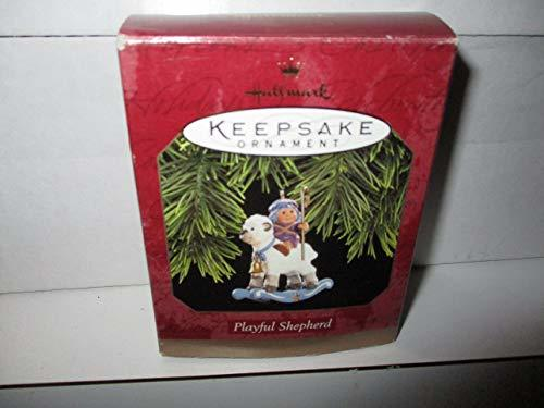 Primary image for Vintage Hallmark Keepsake Ornament Playful Shepherd QX6592