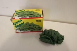 vtg Snowbird Green Beans Fun w Playfood for your Fisher Price tikes Kitchen - $11.95