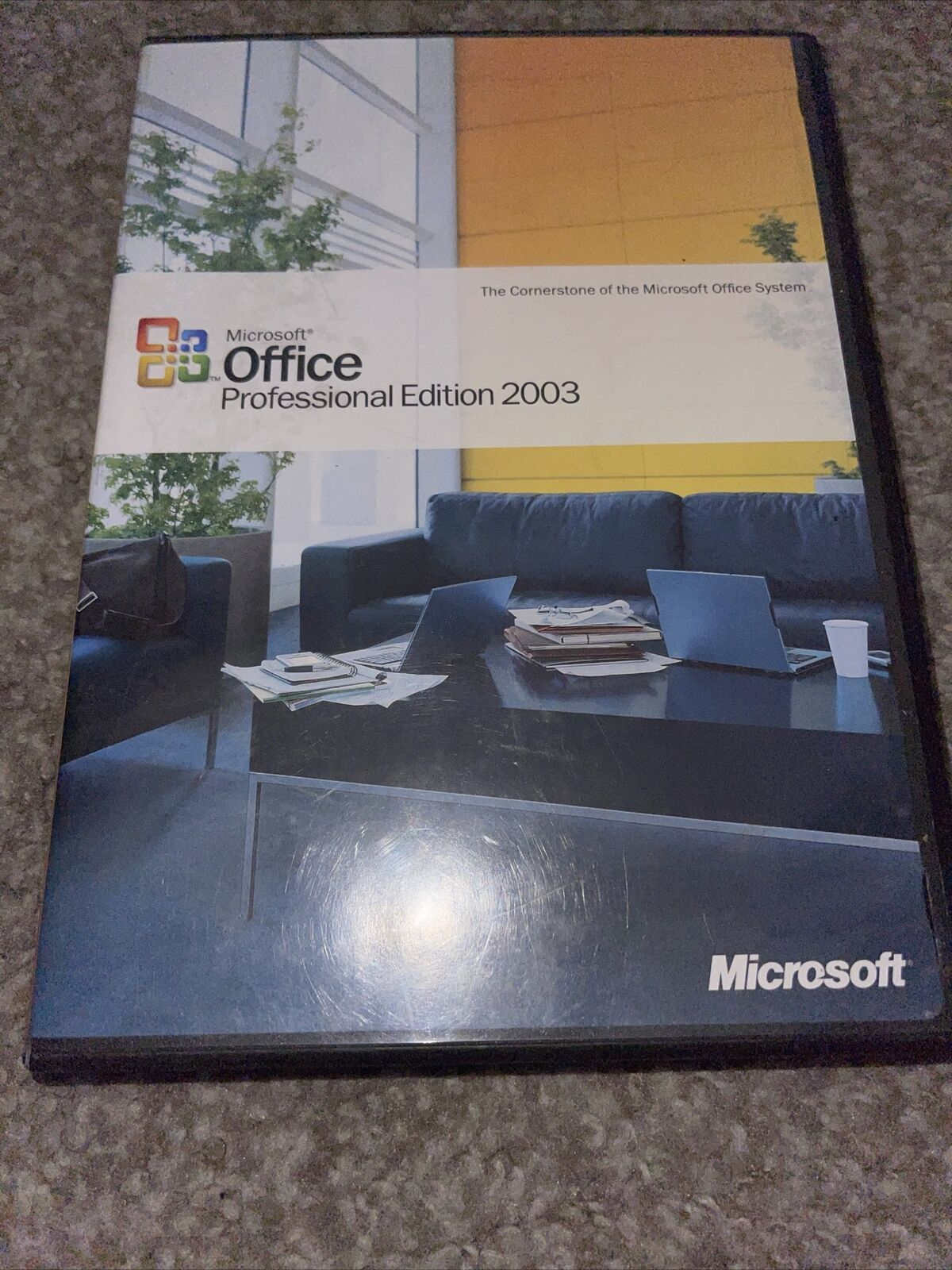 Microsoft  Office Professional Edition 2003 with orig. product/license key - $43.46