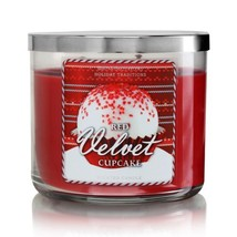 Bath Body Works Red Velvet Cupcake 3-Wick Scented Candle - $33.99