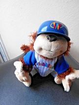 Webkinz Ganz Plush Monkey Chimp In Cubs Uniform & Hat Stuffed Animal Toy - $7.49