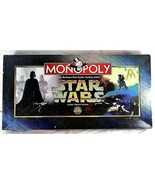 Monopoly Star Wars Classic Trilogy 1997 40809-1 Complete Parker Bros. - $29.99