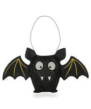 "NEW 2019 Bethany Lowe Designs Halloween ""Bat Bucket"" Paper Mache TD8657 - $52.99"