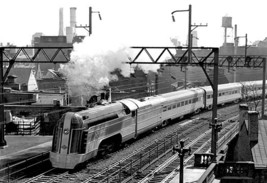 Train Pulling Out Of Station, Philadelphia, Pa By Free Library Of Philadelphia - - $19.99+