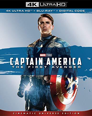 Captain America The First Avenger (4K Ultra HD + Blu-ray + Digital)