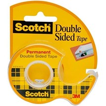 Scotch Brand Double Sided Tape with Dispenser, Standard Width, 3/4 x 300... - $17.95