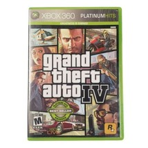 Microsoft Xbox 360 Grand Theft Auto IV Platinum Hits Video Game 2008 - $13.79