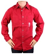 NEW LEVI'S MEN'S COTTON CLASSIC LONG SLEEVE DENIM BUTTON UP DRESS SHIRT-... - $35.10