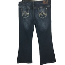 Maurices Jeans Womens Size 15/16 Short Straight Jeans with Boot Cut Hems - $18.00